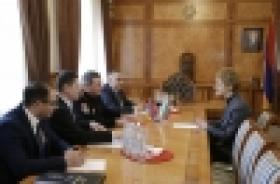 Ambassador Extraordinary and Plenipotentiary of Bulgaria to the Republic of Armenia visits the Armenian Police (VIDEO and PHOTOS)