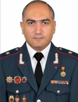 Head of the Educational Complex of the Police of RA, Police Major General Mushegh Babayan