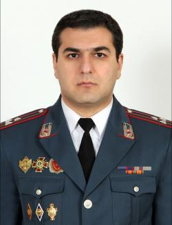 Head of the RA Police Headquarters, Police Colonel Armen Mkrtchyan