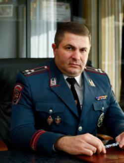 Head of the General Department of Public Order Protection, Police Colonel Georgy A. Ayvazyan